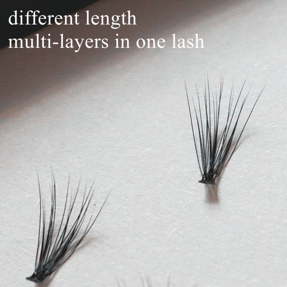 4 rows 0.07 Starscolors eyelash 20D volume eyelash extension