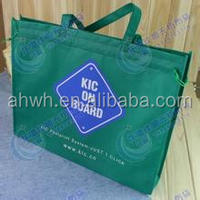 custom hot sale recycle non woven shoiing plastic bag