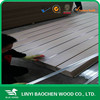 Exhibition slot board for hook, grooved 21mm mdf/Linyi manufactuer