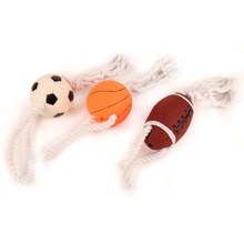 Durable Chewing Rubber Ball Pet Toys For Dog 2016