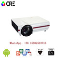 CRE X1500 Multimedia HD LED LCD Video Portable Business Projector For Presentation In Conference Room