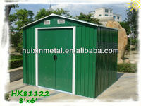 Garden metal shed steel structure HX81122