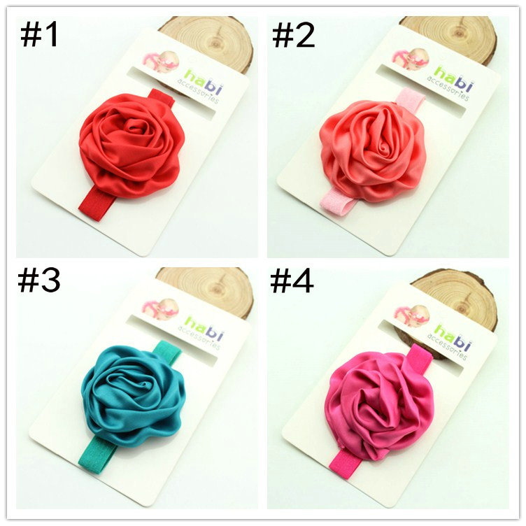 Korean Style Free Shipping Wholesale Hair Accessories Flower Headband Baby