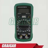 Professional Digital Multimeter MS8233B, Portable LCD Display DC AC Voltage Current Multimeter