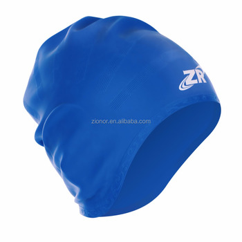 Wholesale Silicone Swim Caps OEM/ODM Elastic Waterproof Soft Swimming Caps Novelty Swim Hats Bathing Cap Logo Printing