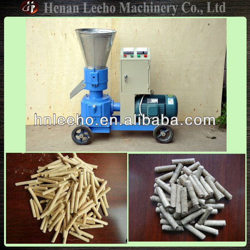 mobile small sawdust pellet mill fertilizer making equipment