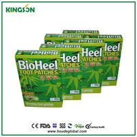 HODAF bamboo vinegar detox foot patch