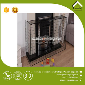 Ningbo factoryFactory Extendable Fireguard, Metal Children Safety Fireguard Hearth Gate sell in alibaba