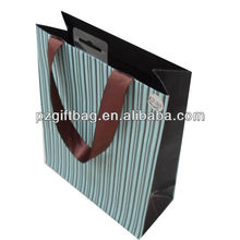 recyclable bling bling gift paper bag
