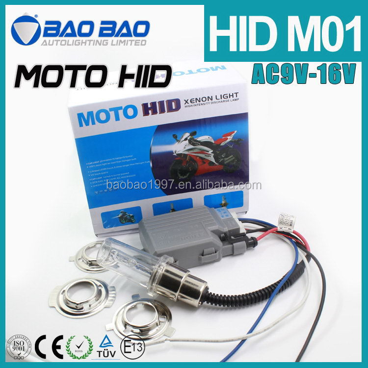 2015 best selling 12v 25w motorcycle hid xenon kit
