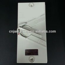 Plastic waterproof insulation-enclosed switch