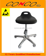 ESD black chair antistatic PU Foam moulding Chair
