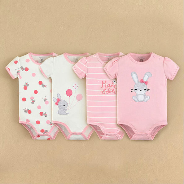 2015 Summer Baby Products momandbab Wholesale Baby Bodysuit Gift Set(1430501)