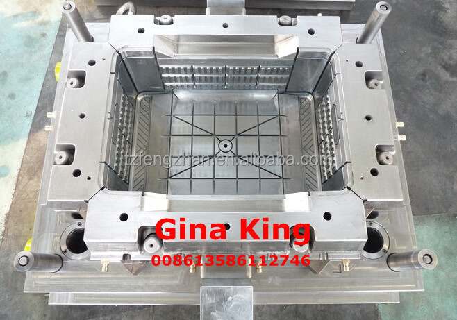 used plastic injection crate mold