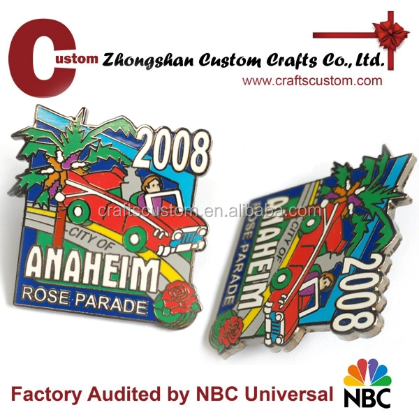 customize car Imitation enamel badge