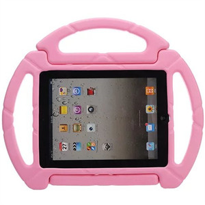 For ipad kid case, for Apple ipad 2 3 4 mini volant cartoon silicon case with handle