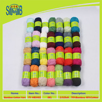 2016 shanghai blend yarn manufacturer best selling oeko tex good quality hand knitting bamboo cotton yarn suppliers from china