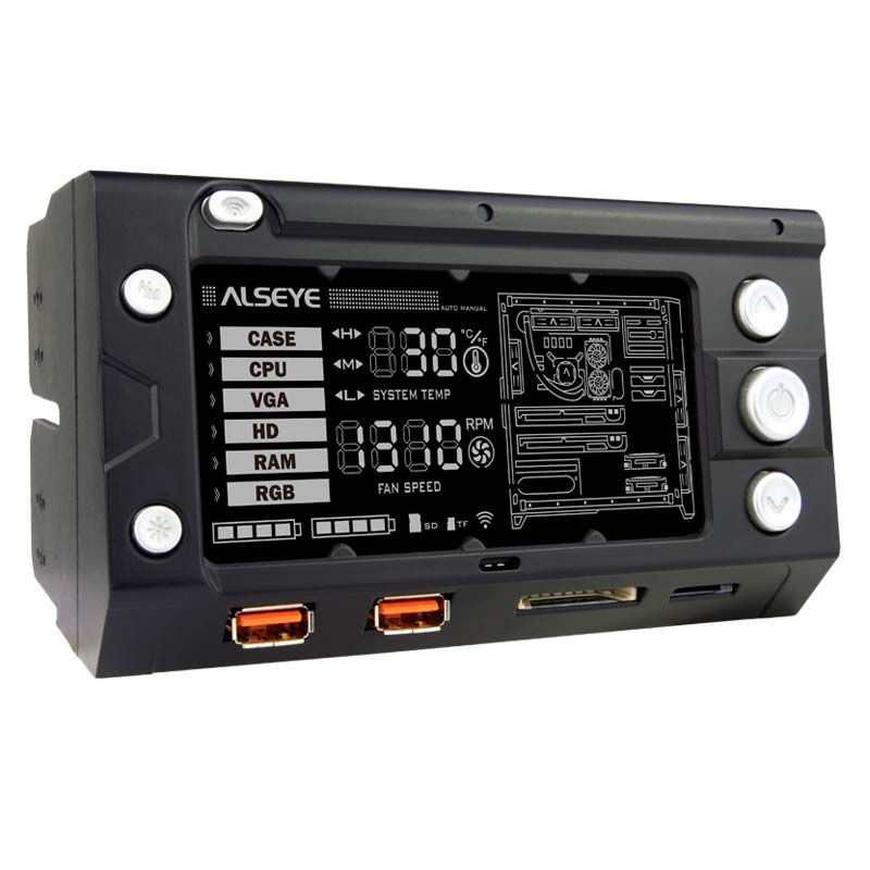 Alseye DA103w factory x-200 high tech LCD touch <strong>screen</strong> cpu cooling fac controller