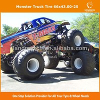 High Quality Monster Truck Tire 66x43.00-25