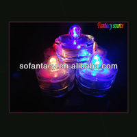 flower shape led waterproof candle