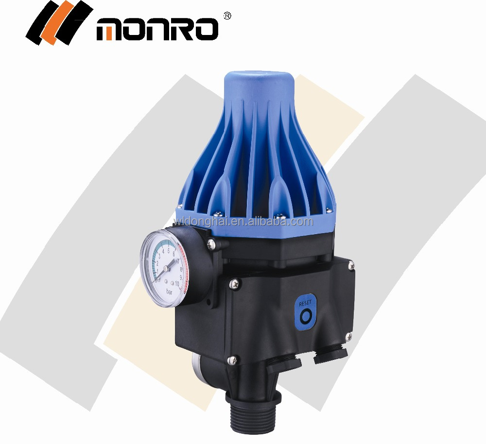 EPC-3 Zhejiang Monro blue/black high quality 240 volt relay switch automatic water pump pressure switch