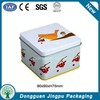 Rectangular Soap Cosmetic Packaging Tin Box