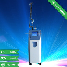 2015 newest technology: Co2 laser glass tube cutting machine/ laser facial rejuvenation machine