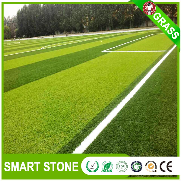 Unique evergreen artificial football grass land high pile