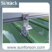 Solar standing seam solar fixing clamp