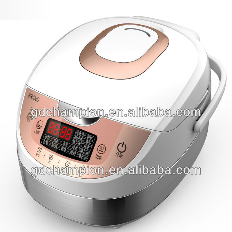 Stainless steel body deluxe multi electric pressure cooker