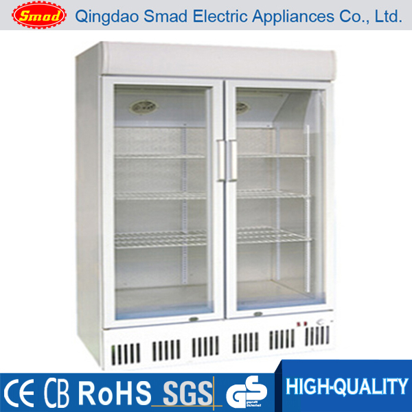 Drink Refrigerator Showcase/Supermarket Refrigeration Equipment/Supermarket Refrigerated Cabinets