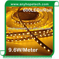 120 SMD3528 per metre 9.6W 24Vdc 2700K IP68 Outdoor LED Tape Lights
