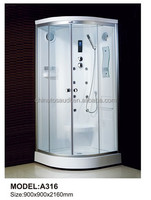 Cheapest economic steam complete shower room W021