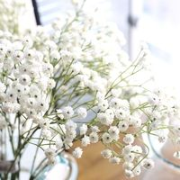 Wholesale Wedding Decoration Gypsophila Baby Breath hot sale latex real touch babysbreath for top quality