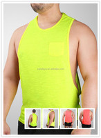 100 cotton mens gym bodybuilding custom stringer tank top