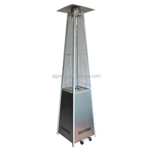 Hot sell glass tube pyramid gas patio heater