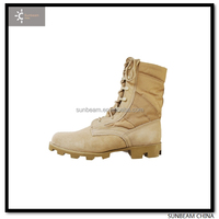 2015 New Design High Quality Leather Military Desert Boots / fast delivery