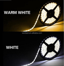 3528 30 LEDs/m 5m/rell warm white/cool white led strip IP44 semi-outdoor lighting
