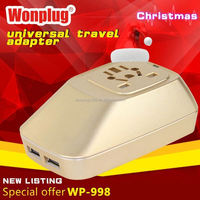 2014 top sale high quality world travel adapter ice hockey gifts