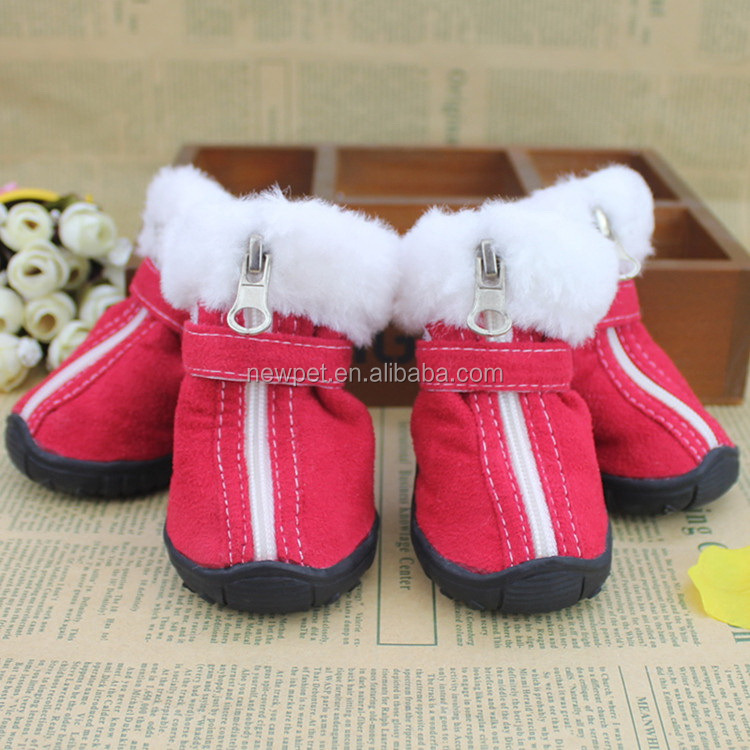 Good reputation newly design skid-resistant pet shoes indoor winter pet dog shoes