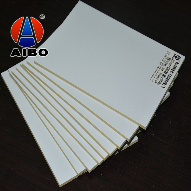 Home decoration customize waterproof white WPC foam sheet 3mm