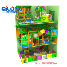 Jungle Theme indoor maze indoor playground for kis amusement park games equipment