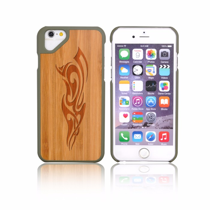 Low MOQ Cherry Maple Wood Case For Mobile