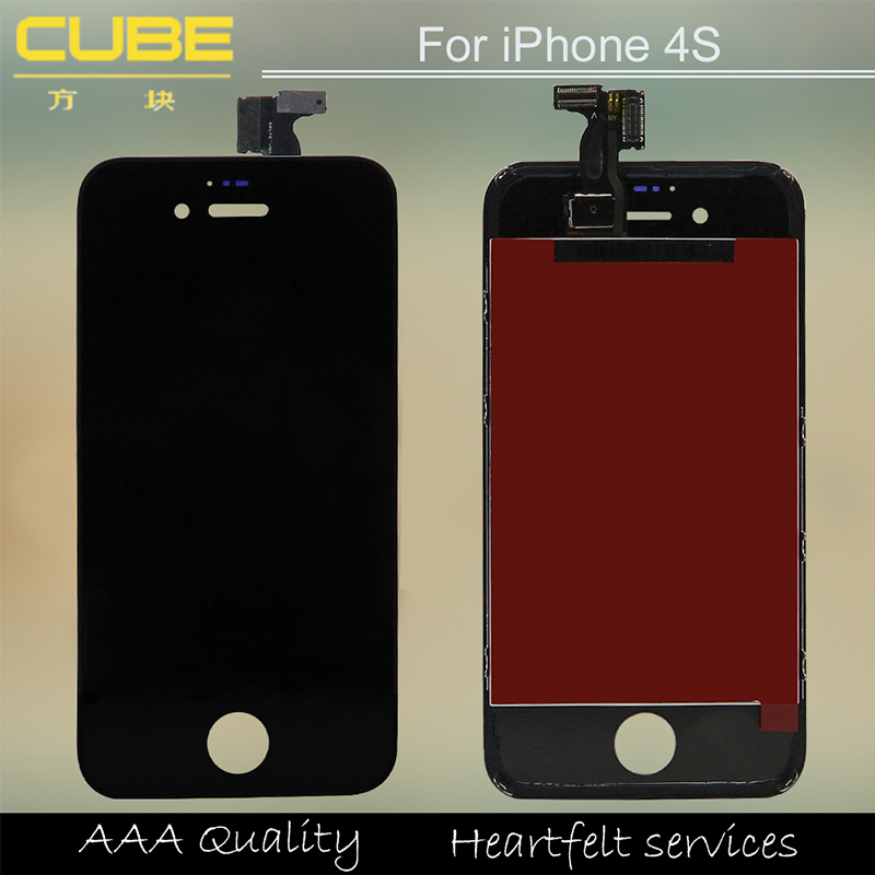 Original pass lcd for iphone 4 lcd screen replacement,for iphone 4 display lcd digitizer