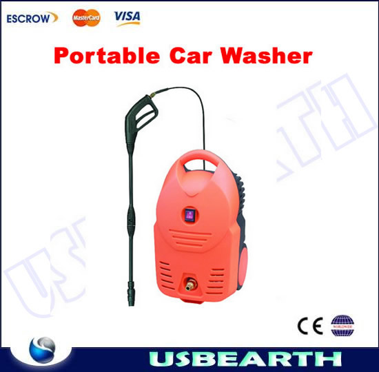 Small type 6L capacity electric car wash, Car Washing Machine, high pressure water pump for car wash Portable Car wash pump