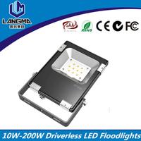 10-200W AC220V 230V 240V waterproof bright outdoor 220 volt led flood light