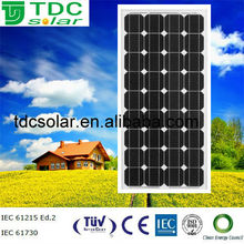 New energy 130w price per watt solar panel