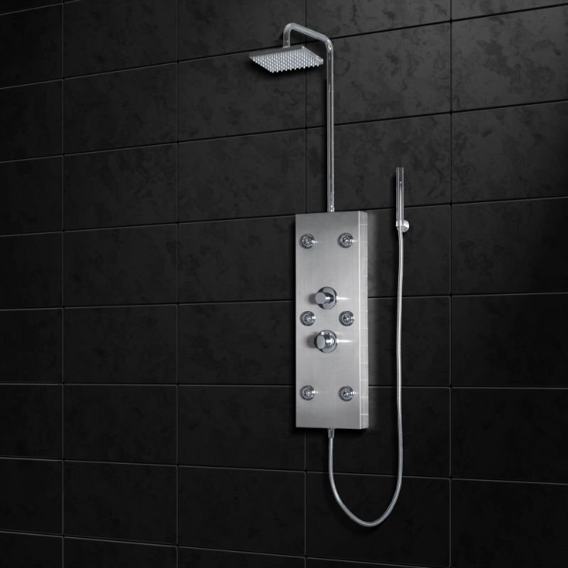 A300 Big Waterfall Overhead Shower Stainless Steel Shower Panel
