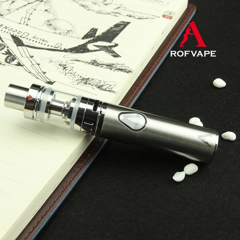 Colorful Smoke E Cig New Design Rofvape CL 2200mah Ceramic Heating Element Vaporizer Rubber Penis E Cigarette