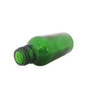 Medical Screw small green glass bottles